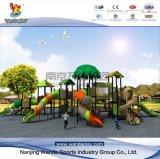 O parque de diversões da Série Floresta Wandeplay crianças parque ao ar livre equipamento com rodas-TUV001