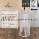 Venda a quente de aço inoxidável de Metal Furntiure Barra Barra de perna elevada conjuntos de mesa