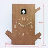 Relógio de parede oscilante cuco em madeira