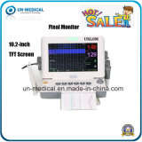 Colorare il video fetale Unl8me di frequenza cardiaca dello schermo di 10.2-Inch TFT