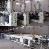 Chaîne de production en plastique de boyau de pipe de PE extrudeuse
