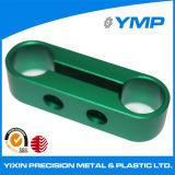 La precisión de aluminio CNC OEM muele las piezas de metal con el color anodizado