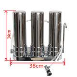3 Edelstahl-Wasser-Reinigungsapparat des Stadiencountertop-304 mit direkter Dirnking Wasser-Lösung