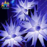 Illuminazione gonfiabile della stella della stella LED della decorazione della barra di Decoraion di cerimonia nuziale di Finego LED