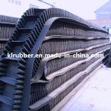 Ep/Nn Sidewall Rubber Conveyor Belt für Transportation