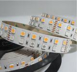 두 배 줄 매우 밝은 SMD5050 RGBW LED 지구