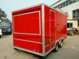 2017 utilisation de machine de cuisine, 900 kilogrammes de nourriture de chariot de modèle mobile de remorque