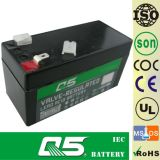 12V1.3AH, può personalizzare 1.0AH; Batteria di potere di memoria; UPS; Caratteri per secondo; ENV; ECO; Batteria del AGM del Profondo-Ciclo; Batteria di VRLA; Batteria al piombo sigillata