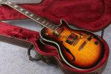 Vintage Sunburst trous Double LP Jazz guitare électrique (BPL-70)