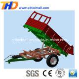 Schlussteil-Bauernhof-Maschinerie-Traktor eingehangen, Schlussteil ausgebend