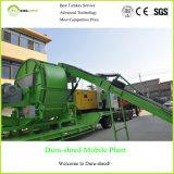 Máquina doble favorable al medio ambiente del reciclaje inútil de la desfibradora del eje