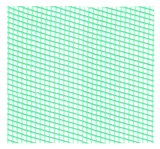 Máquina neta rígida plástica del PE--Máquina plástica de la protuberancia de Geonet