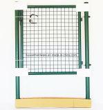 鋼鉄管フレームの金網の溶接金属の庭ゲート