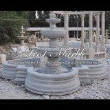 De grijze Fontein van het Graniet voor Meubilair mf-1239 van de Tuin
