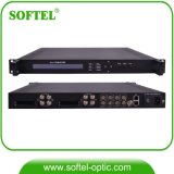 4 in 1 HF DVB-C/S/S2 zu Asi/IP HD IRD mit 48 Spts über IP-UDP
