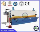 Máquina de corte da guilhotina de QC11Y