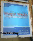LED 알루미늄 프레임 마술 미러 광고