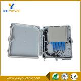 PLC 쪼개는 도구를 가진 옥외 8개의 코어 광섬유 배급 상자