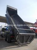 HOWO 8X4 22立方Uのタイプ貨物ボックスダンプトラック