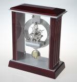Horloge de bureau en pendule en bois K3035P