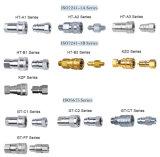 Eatonの油圧速いカップリングに合う標準ステンレス鋼の真鍮油圧ホース