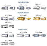 Tuyau hydraulique en laiton normal d'acier inoxydable d'Eaton ajustant le couplage rapide hydraulique