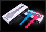 Crazy vendiendo productos adultos de silicona vibrando 3 velocidades de juguete de sexo anal