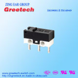 0.1A 48VDC Subminiature Micro- die Schakelaar in Telefoon en Elektrische Nietmachine wordt gebruikt