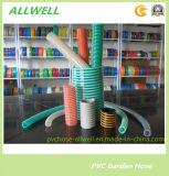 PVC en plastique flexible en spirale en poudre renforcée Huile d'aspiration d'eau