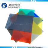 고품질 UV 보호를 가진 플라스틱 폴리탄산염 루핑 위원회