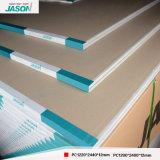 Cartón yeso de alta calidad de Jason para el edificio Material-12mm