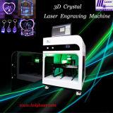 Cadeau de cristal en 3D, esthétiques au laser Gravure intérieur de la machine