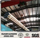 Pipe en acier galvanisée d'IMMERSION chaude avec le certificat ISO9001