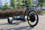 Tres ruedas Eelctric Trike deriva del motor con el cubo