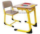 Escritorio y silla fijos del estudiante de la universidad de madera de los muebles de escuela