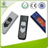 防風の自動USBのタバコのライター