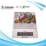 De plastic Kaart van de Streepjescode van de Druk/De Streepjescode van de Druk van de Staaf Card/UV van de Druk van Inkjet