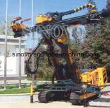 Plataforma de perforación de múltiples funciones montada correa eslabonada hidráulica SM300