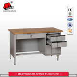 사무실 Excutive 비서 3개의 서랍을%s 가진 큰 금속 책상 테이블