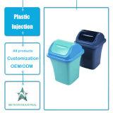 Pattumiera quotidiana di modellatura personalizzata della plastica della cucina della famiglia di uso dei prodotti dell'iniezione di plastica