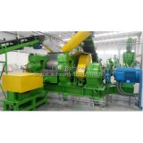 폐기물 Tyre Recycling Machine Plant 또는 Waste Tyre Recycling Plant