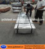 波形の電流を通された鋼鉄屋根ふきシート