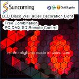 자유로운 조합 새로운 디자인 DJ는 3D LED 위원회 빛을 상연한다