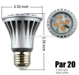 cUL Dimmable SMD 7W dell'UL PAR20 LED