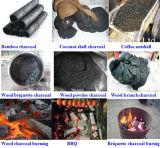 Facile gestire il carbone di legna di bambù di legno della biomassa che fa la macchina