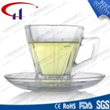 130ml Atacado Super White Glass Coffee Set (CHM8461)