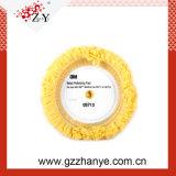 3m'Original recto Tampon à polir de laine mélangée jaune