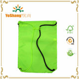 형식 Flue Green 210d Polyester Drawstring Backpack