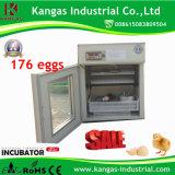 Incubateur automatique industriel approuvé de volaille de la CE pour des oeufs de poulet