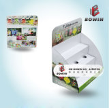 Point de vente Matériau du papier Full Printing Carton Display Stand Boxes
